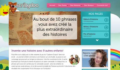 Scribydoo-homepage